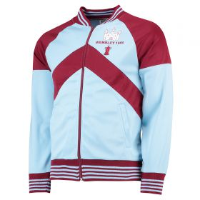 West Ham Utd 1980 FA Cup Final Track Jacket - Blue/Claret
