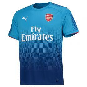 Arsenal Away Shirt 2017-18 - Outsize with Aubameyang 14 printing
