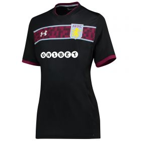 Aston Villa Away Shirt 2017-18 - Womens with Grabban 45 printing