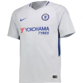 Chelsea Away Stadium Shirt 2017-18 - Kids with Emerson 33 printing