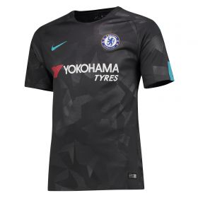 Chelsea Third Stadium Shirt 2017-18 with Emerson 33 printing