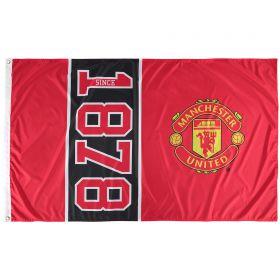 Manchester United Established Flag