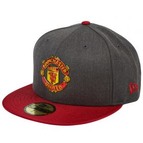 Manchester United New Era Ballistic 59FIFTY - Graphite/Red - Adult
