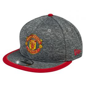 Manchester United New Era Pop Piping 9FIFTY Snapback - Grey - Adult
