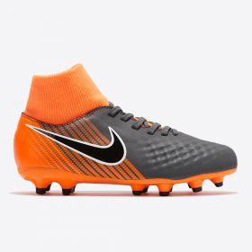 Nike Magista Obra 2 Academy Dynamic Fit Firm Ground Football Boots - Dark Grey - Kids