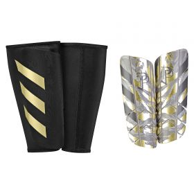 adidas Ghost Graphic Paul Pogba Shinguards - Clear Brown/Light Brown/Simple Brown