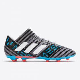 adidas Nemeziz Messi 17.3 Firm Ground Football Boots - Grey