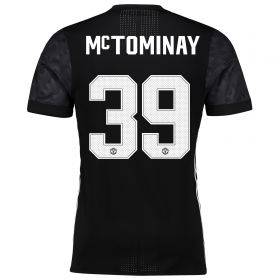 Manchester United Away Cup Adi Zero Shirt 2017-18 with McTominay 39 printing