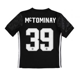 Manchester United Away Cup Shirt 2017-18 - Kids with McTominay 39 printing