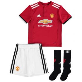 Manchester United Home Mini Kit 2017-18 with McTominay 39 printing