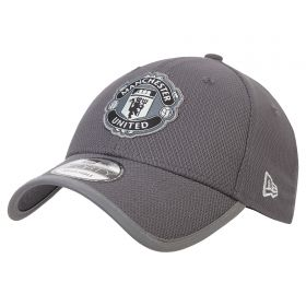Manchester United New Era 9FORTY Reflect Bind Adjuastable Cap - Graphite - Adult