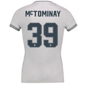 Manchester United Third Cup Shirt 2017-18 - Womens with McTominay 39 printing