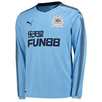 Newcastle United Away Shirt 2017-18 - Long Sleeve with Slimani 13 printing
