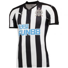 Newcastle United Home Authentic Shirt 2017-18 with Slimani 13 printing