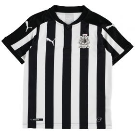 Newcastle United Home Shirt 2017-18 - Kids with Slimani 13 printing