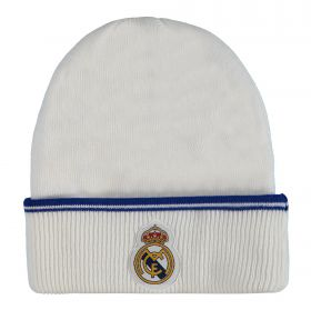 Real Madrid Fan Hat - White - Adult