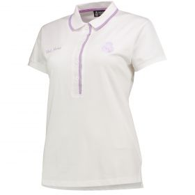 Real Madrid Polo Shirt - White - Womens