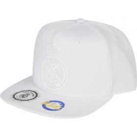 Real Madrid Snapback Cap - White - Junior