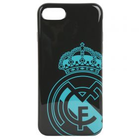 Real Madrid TPU iPhone 7/8 Cover - Black