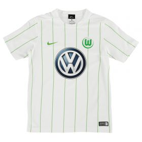 VfL Wolfsburg Away Shirt 2016-17 - Kids with Brekalo 25 printing