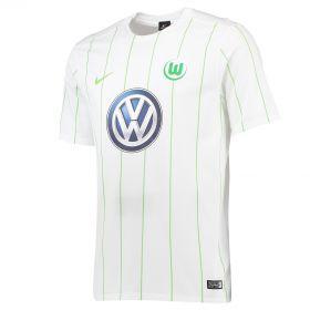 VfL Wolfsburg Away Shirt 2016-17 with Brekalo 25 printing