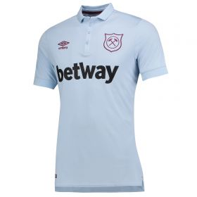 West Ham United Third Shirt 2017-18 with Evra 27 printing
