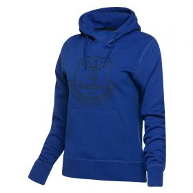 Everton Essential OTH Hoodie - Royal - Womens