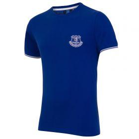 Everton Essential Pique T-Shirt - Royal