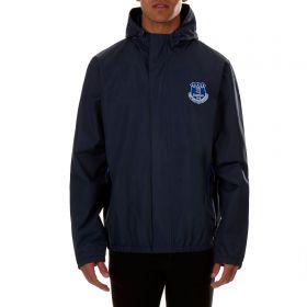 Everton Essential Shower Jacket - Navy