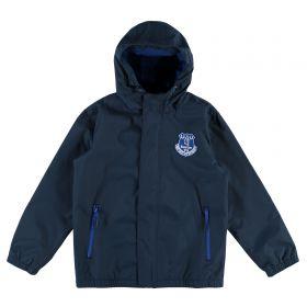 Everton Essential Shower Jacket - Navy (2-13yrs)