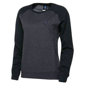 Everton Essential Sweater - Mid Blue Marl - Womens
