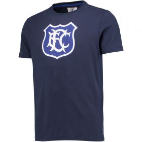 Everton Goodison 125 Years LL T-Shirt - Navy - Mens