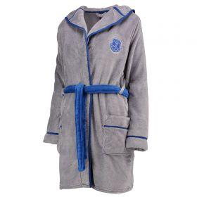 Everton Robe - Grey Marl/Royal - Womens