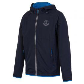 Everton Sport Running Jacket - Navy/Reflective