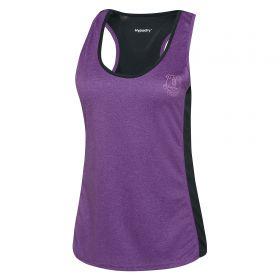 Everton Sport Vest - Purple/Reflective - Womens