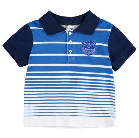 Everton Stripe Polo - Royal/Navy (2-7yrs)