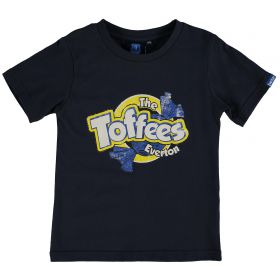 Everton The Toffees T-Shirt - Navy - Junior