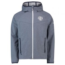 Manchester United Columbia Heather Canyon Jacket - Collegiate Navy - Mens