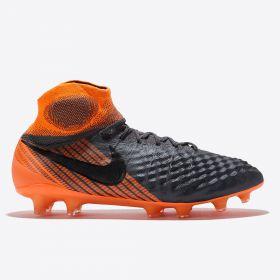 Nike Magista Obra 2 Elite Dynamic Fit Firm Ground Football Boots - Dark Grey
