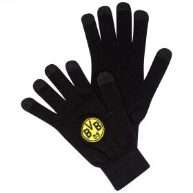 BVB Smartphone Gloves - Black/Yellow