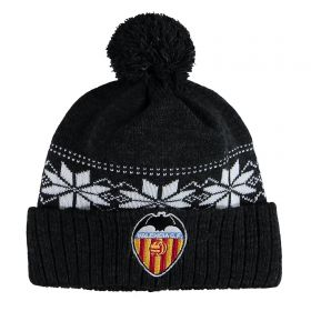 Valencia CF Fairisle Hat - Black - Adult