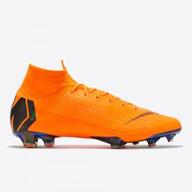Nike Mercurial Superfly 6 Elite Firm Ground Football Boots - Orange