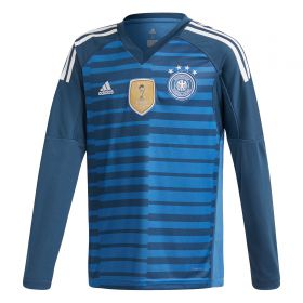 Germany Home Goalkeeper Shirt 2018 - Kids with Neuer 1 printing