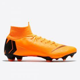 Nike Mercurial Superfly 6 Pro Firm Ground Football Boots - Orange