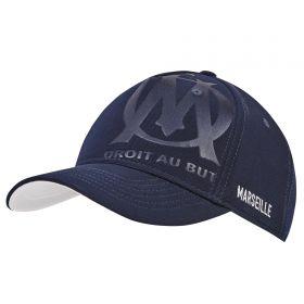 Olympique de Marseille Sport Cap - Navy - Mens