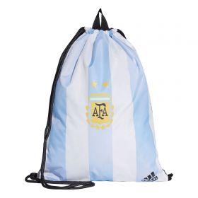 Argentina Gym Bag - White