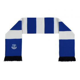 Everton Stripe Jacquard Scarf