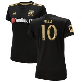 Los Angeles FC Home Shirt 2018 - Womens with Vela 10 printing
