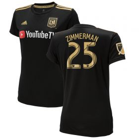 Los Angeles FC Home Shirt 2018 - Womens with Zimmerman 25 printing
