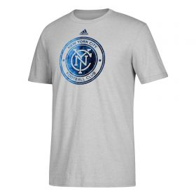 New York City FC Smoke Out T-Shirt - Lt Grey